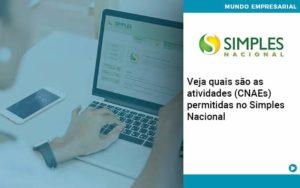 Veja Quais São As Atividades (cnaes) Permitidas No Simples Nacional Quero Montar Uma Empresa - NFP Contabilidade